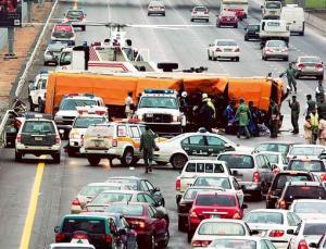 Dubai Road Accident